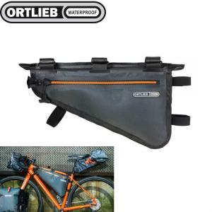 オルトリーブ 防水 自転車 マウンテンバイク 収納 アクセサリー バイクパッキングシリーズ フレームパック M 4L  ORTLIEB|videoallcam