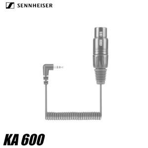 ゼンハイザー KA600 XLR3F-3.5mm変換ケーブル MKE600アクセサリー ユーチューバー 動画撮影 一眼レフ SENNHEISER 国内正規品 videoallcam