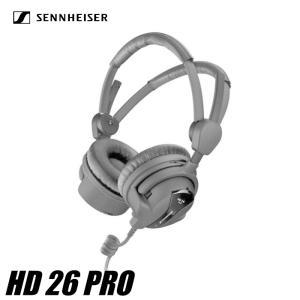 ヘッドフォン ゼンハイザー HD 26 PRO ブラック SENNHEISER ダイナミック 密閉型 プロフェッショナル・モニタリングヘッドホン videoallcam