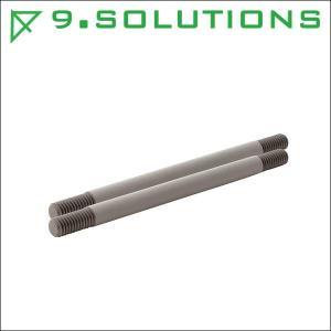 9.SOLUTIONS ナインドットソリューションズ 3/8 インチ ロッド セット (150mm) 9.VBROD1|videoallcam