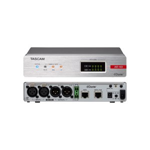 TASCAM タスカム 4 AES/EBU入出力Danteコンバーター AE-4D プロオーディオ videoallcam