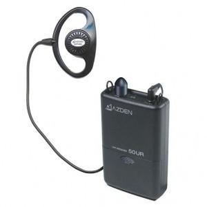 AZDEN アツデン50UR  800MHz B型 レシーバー 受信機  ワイヤレスマイク|videoallcam