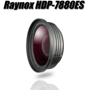 HDP-7880ES レイノックス カメラレンズ ワイコン 4K画質対応ワイドコンバージョンレンズ 広角 Raynox|videoallcam