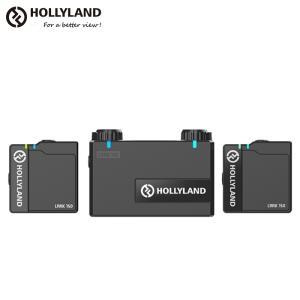 Hollyland Lark 150 ワイヤレスマイク 2.4GHz 2チャンネル デュアルワイヤレスマイクロホンシステム ユーチューブ 配信 ユーチューバー ホーリーランド|videoallcam
