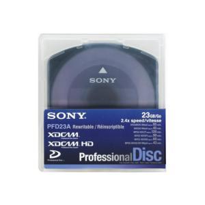 SONY ソニー PFD23A/3 XDCAM記録用 プロフェッショナルディスク Professional Disc 23GB/1層/通常ケース|videoallcam