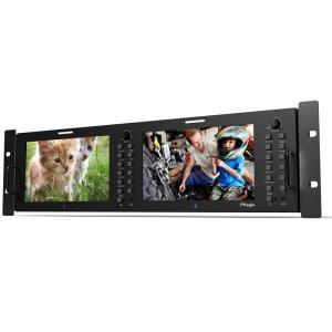 TVlogic 高性能ディスプレイ7型2連LCDモニター RKM-270A|videoallcam