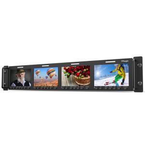 TVlogic 4.3型4連LCDモニター 4連×4.3inラックマウントモニター RKM-443A|videoallcam