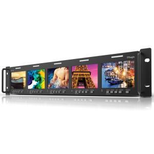 TVlogic 3.5型5連LCDモニター ラックマウントモニター RKM-535A|videoallcam