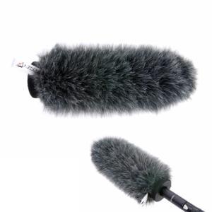 風防 マルチウィンドジャマー  SWS-200 合成毛皮 インナースポンジ 一体型ウインドジャマー AZDEN アツデン videoallcam