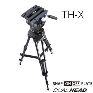 三脚 TH-X リーベック Libec 小型ビデオカメラ用 業務用 プロ機材 トライポッド 映像制作 videoallcam