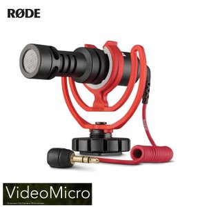 RODE ロード VideoMicro ガンマイク 音声収録機材 スマホ 一眼レフ ビデオマイクロ 正規取扱店 ユーチューバー YouTuber|videoallcam