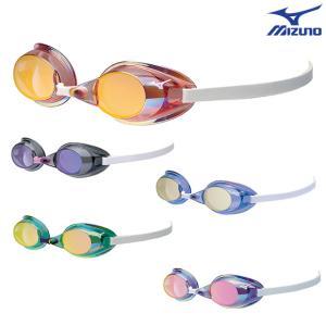 MIZUNO ミズノ (85YA-751) ノンクッションスイムゴーグル ミラーレンズ|viento