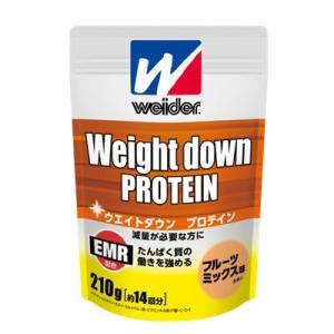 ウイダー ウエイトダウンプロテイン フルーツミックス味 210g(袋) C6JMM43200|viento