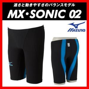 MIZUNO ミズノ MX・SONIC02 (N2MB601170) メンズ ハーフスパッツ 【FINA承認】 viento