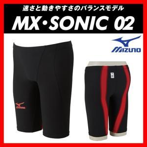 MIZUNO ミズノ MX・SONIC02 (N2MB601171) メンズ ハーフスパッツ 【FINA承認】 viento