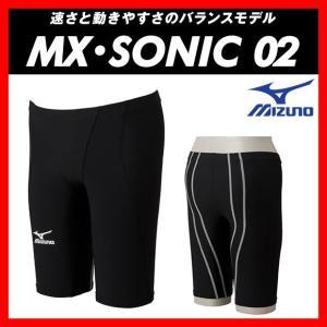 MIZUNO ミズノ MX・SONIC02 (N2MB601190) メンズ ハーフスパッツ 【FINA承認】 viento
