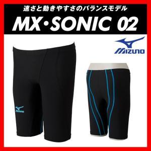 MIZUNO ミズノ MX・SONIC02 (N2MB601191) メンズ ハーフスパッツ 【FINA承認】 viento