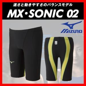 MIZUNO ミズノ MX・SONIC02 (N2MB801174) メンズ ハーフスパッツ 【FINA承認】|viento