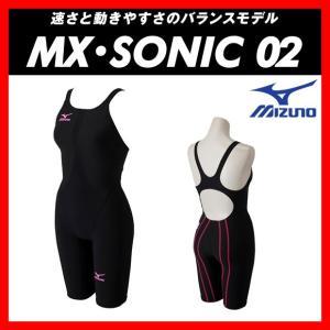 ★送料無料★MIZUNO ミズノ MX・SONIC02 (N2MG621197) レディス ハーフスーツ 【FINA承認】 viento