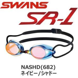 SWANS スワンズ (SR-1M) EV ノンクッションスイムゴーグル ミラーレンズ|viento