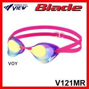 VIEW Blade(V121MR) ノンクッションスイムゴーグル ミラーレンズ|viento