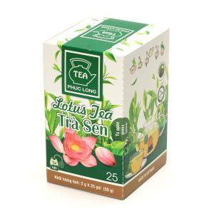 ハス茶 ティーバッグ25袋入 NEW(蓮花茶)PhucLong ベトナム 蓮茶
