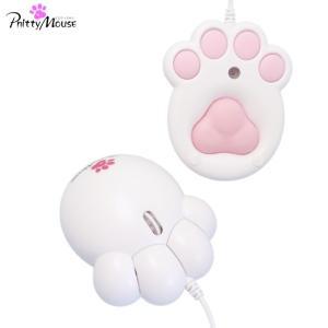 肉球マウス Pnitty Mouse -プニティマウス- 白(ホワイト)- / パソコン周辺機器 マウス PC用マウス|viewcoat