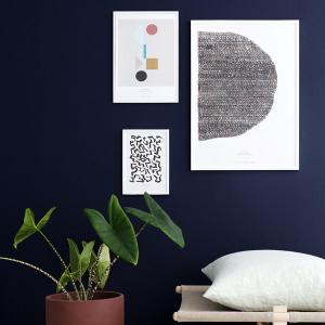 スティルレーベン STILLEBEN A4ポスター 210×297mm Pieces ピース  メール便対応 Atelier Cph   モノクロ 白黒 デンマーク 北欧 viewgarden 03