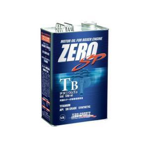 ZERO SP チタニウムTB Titanium TB 10W-40 SN GRADE 4.5L缶|vigoras