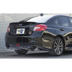 【TRUST/トラスト】 GReddy パワーエクストリームR HD マフラー スバル WRX S4 CBA-VAG WRX STi CBA-VAB [10163303]|vigoras