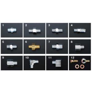 【TRUST/トラスト】ユニオン 形状7 1/8PF-M14 P1.5 真鍮製Crメッキ [11900576]|vigoras