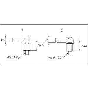 【TRUST/トラスト】GReddy ブリーザータンク オプションパーツ 自在ユニオン 8φ M8×P1.25(銅ワッシャー付) [11900627]|vigoras