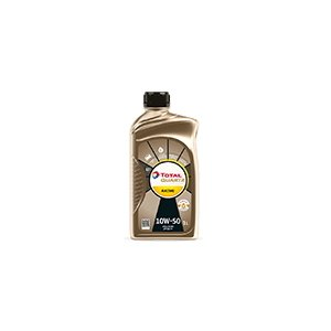 【TOTAL/トタル】エンジンオイル QUARTZ RACING 10W50 1L [166256]|vigoras