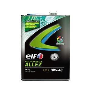 elf オイル モリグラファイト ALLEZ 10W40 4L SN|vigoras