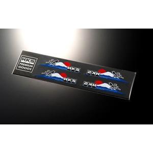 【HKS】 ステッカー HKS STICKER 速 4pcs 114 x 26 4枚入り [51003-AK124]|vigoras