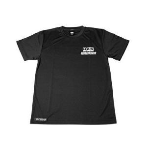 【HKS】 Tシャツ HKS MOTOR SPORT T-shirt 黒 M ドライメッシュ素材 [51007-AK246]|vigoras