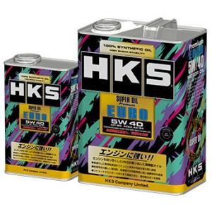 【HKS】 エンジンオイル スーパーオイルプレミアム SUPER OIL Premium EURO 5W40 1L API SN/ACEA A3/B4 [52001-AK119]|vigoras