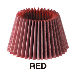 【BLITZ/ブリッツ】 エアクリーナー SUS POWER CORE TYPE LM 交換用フィルター E3/E4 CORE用 レッド 上下ガスケット付 [55999] vigoras