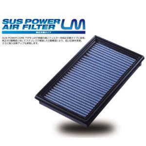 【BLITZ/ブリッツ】 SUS POWER AIR FILTER LM (サスパワーエアフィルターLM) SD-868B アトレーワゴン S321G,S331G ハイゼットカーゴ S321V,S331V [59647] vigoras
