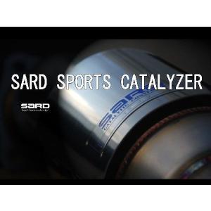SARD(サード)スポーツキャタライザー ランサーエボリューション5 GF-CP9A|vigoras