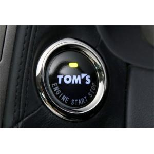 TOM'S(トムス)プッシュスタートボタン 89611-TS001|vigoras