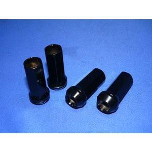 AS クロモリレーシングナット ロング50mm 51.9g M12XP1.25   4本set|vigoras