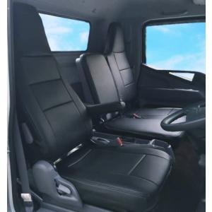 【Azur/アズール】フロントシートカバー ヘッドレスト一体型 運転席単品 三菱ふそう キャンター(ブルーテック) 8型 FEB/FEC [AZU12R06] vigoras