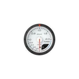 【Defi/デフィ】Defi-Link Meter ADVANCE CR(アドバンスシーアール) ターボ計 200kPaモデル Φ60 白文字盤 [DF08601]|vigoras