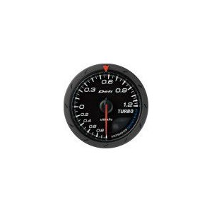 【Defi/デフィ】Defi-Link Meter ADVANCE CR(アドバンスシーアール) ターボ計 120kPaモデル Φ60 黒文字盤 [DF08702]|vigoras
