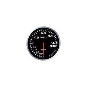 【Defi/デフィ】Defi-Link Meter ADVANCE BF(アドバンスビーエフ) ターボ計 Max120kPaモデル ホワイト [DF10001]|vigoras