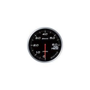 【Defi/デフィ】Defi-Link Meter ADVANCE BF(アドバンスビーエフ) 燃圧計 0kPa〜600kPa Φ60 ホワイト [DF10301]|vigoras