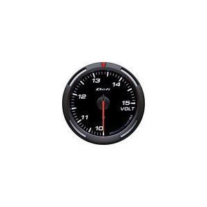 【DEFI Racer Gauge Series】レーサーゲージ 60φ電圧計(ホワイト)|vigoras