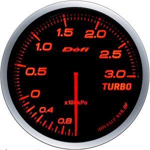 【Defi/デフィ】 Defi-Link Meter ADVANCE BF(アドバンスビーエフ) ターボ計 Max300kPaモデル Φ60 アンバーレッド [DF14702]