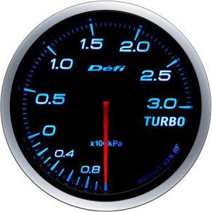 【Defi/デフィ】 Defi-Link Meter ADVANCE BF(アドバンスビーエフ) ターボ計 Max300kPaモデル Φ60 ブルー [DF14703]